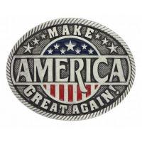 Montana Attitude Buckle Make America Great Again! A668