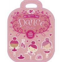 CJ Merchantile My Pretty Pink Dance Purse Book with 1000+ Stickers B-2097