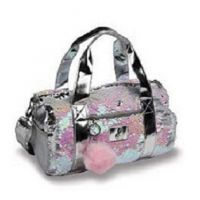 DansBagz Pearlescent Girls Dufflebag B837