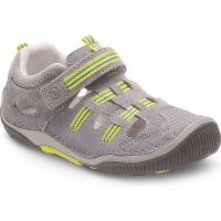 Stride Rite Reggie Fisherman Sandal Grey/Lime BB56826