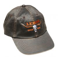 Lebos Brown Ballcap with Longhorn BC210-BRN