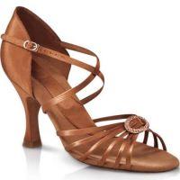 BR1921 Cinnamon Stella 3 Inch Heel Capezio Ballroom Shoes