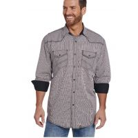 Cowboy Up Contrast Cuff Mens Long Sleeve Snap Western Shirt CB70803