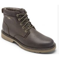 Rockport Dunham Brown Men's Jake Waterproof Plain Toe Boot CH6139