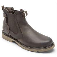 Rockport Dunham Dark Brown Men's Jake Waterproof Chelsea Boot CH6619