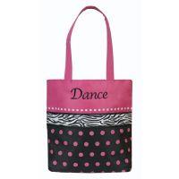 Sassi Dots N Zebra Small Dance Tote DZB-01