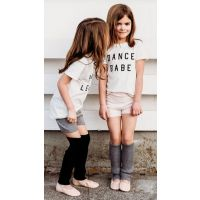 Capezio White Ford And Wyatt Dance Babe Childrens Short Sleeve T-Shirt FW4006