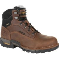 Georgia Boot Brown Eagle One Steel Toe Waterproof Comfort Work BootS GB00313