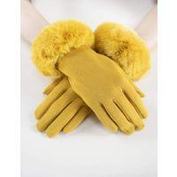 Very Moda Faux Fur Cuff Gloves GL12270