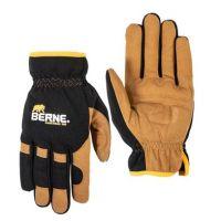 Berne Workwear Men's Brown Duck Easy-Fit Work Glove GLV64