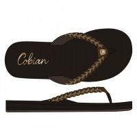 Cobian Heavenly Chocolate Womens Flip Flop Sandals HEA18