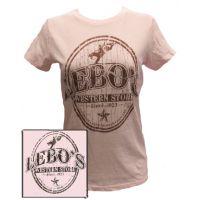 LEBOSTEE  Ladies Lebo's Logo Tee