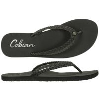 Cobian Leucadia Black Women's Flip Flop LEC17