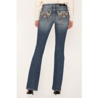 Miss Me Tribal Style Womens Bootcut Jeans M3490B