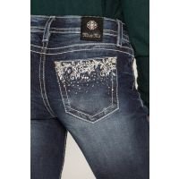 Miss Me Rock Your World Womens Straight Jeans M3495T