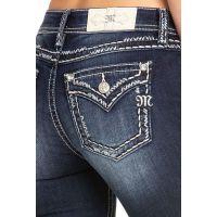 Miss Me Faux Flap Chloe Womens BootCut Jeans M5014B315