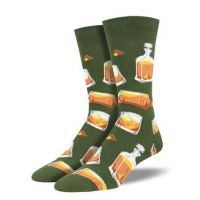 SockSmith Men's Green Rocks or Neat Socks MNC1687