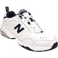 New Balance MX624 White Leather Mens Trainer MX624WN2