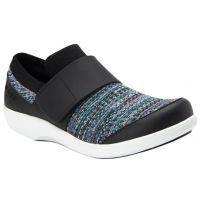 Alegira Traq Black Qwik Flurry Comfort Womens Shoes QWI-5004