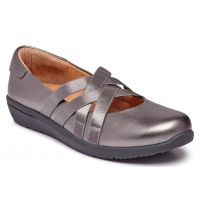 Vionic Pewter Serenity Womens Slip On Casusal Shoes