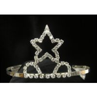 T-15 Single Star Raised Tiara
