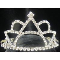 T-31 SUNRISE AND POINTED AND CURVED MOUND TIARA