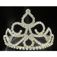 T-34 PAISLEY AND CURVED MOUND TIARA