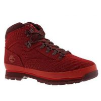 Timberland Red Euro Hiker Mens Boots TB0A1OAB625