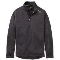 Timberland Pro Men's Dark Charcoal Underdtory Quarter-Zip Fleece Shirt TB0A112J013