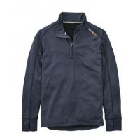 Timberland Pro Navy Heather Blue Understory 1/4 Zip Fleece Top TB0A112J440