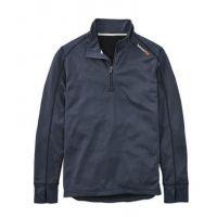 Timberland Pro Navy Heather Blue Understory 1/4 Zip Fleece Top TB0A112J440