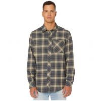 Timberland Pro Dark Navy Runyon Woodfort Mid-Weight Flannel Work Shirt TB0A1V49X27