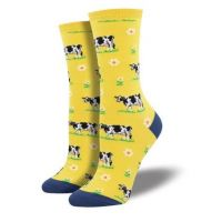 SockSmith Yellow Womens Legendairy Socks WNC1516