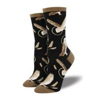 SockSmith Women's Black Wise and Shine Socks WNC1590