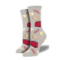 SockSmith Women's Grey Good Morning Socks WNC1879