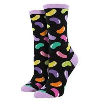 SockSmith Black Jelly Beans Women's Socks WNC761