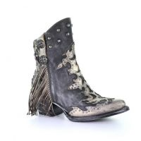 Corral Metallic Overlay Womens Pointed Toe Fashion Boots Z0092