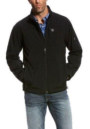 Ariat 10024027 Men/'s Black Wind /& Water Resistant FR Softshell Vernon Jacket