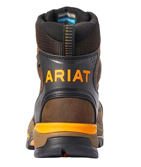 Ariat Men/'s Dozier Lace-Up Boot 10031512 Moc Toe
