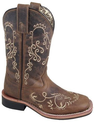 3845Y Smoky Mountain Girls/' Marilyn Western Boot Square Toe