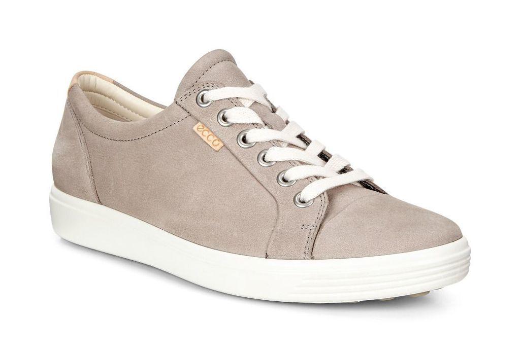 Ecco Soft 7 Warm Grey Women's Sneaker