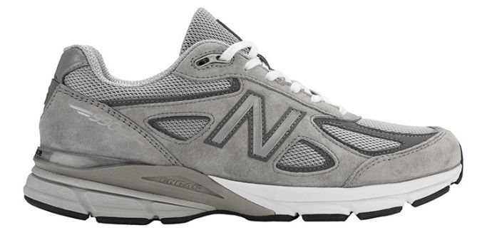 New Balance M990 Pigskin/Mesh Grey Mens