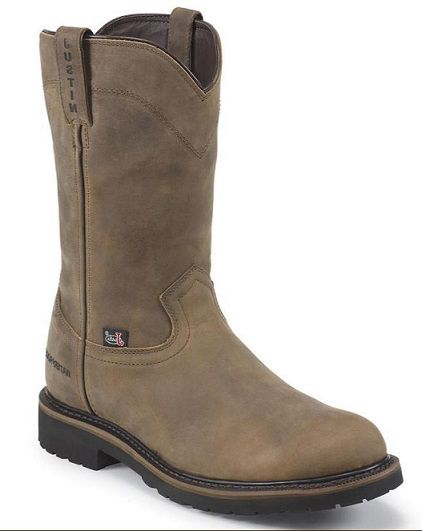 Justin Brown Pull-On Non-Steel Toe