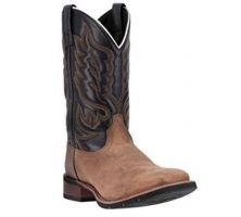 Laredo Montana Sand and Chocolate Mens Boots 7800