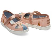 Disney X TOMS Sleeping Beauty Tiny TOMS Mary Jane Flats 10012741