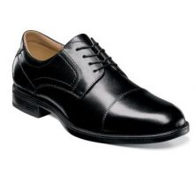 Florsheim Cap Toe Oxford Black Leather Mens Dress 12138-001