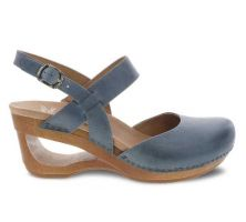 Dansko Taci Danim Waxy Calf Womens Comfort Wedge Sandals 3413-721500