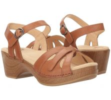 Dansko Season Camel Full Grain Womens Comfort Sandals 9849-982200