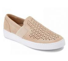 Vionic Beige Kani Slip-On Womens Comfort Sneaker KANI