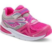 Saucony Baby Ride Pink Girls Athletic ST57173